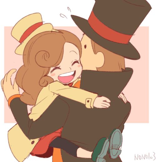 Kat and Professor Layton