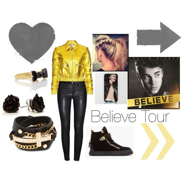 BELIEVE TOUR!!! by adira-99 on Polyvore