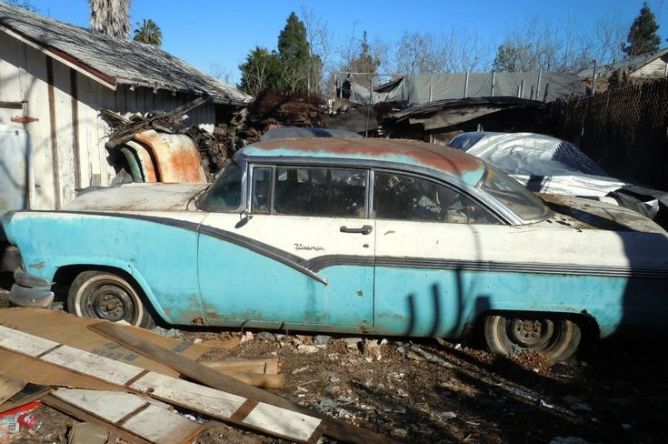 1956 Ford Victoria: Bel Air Fighter - http://barnfinds.com/1956-ford-victoria-bel-air-fighter/