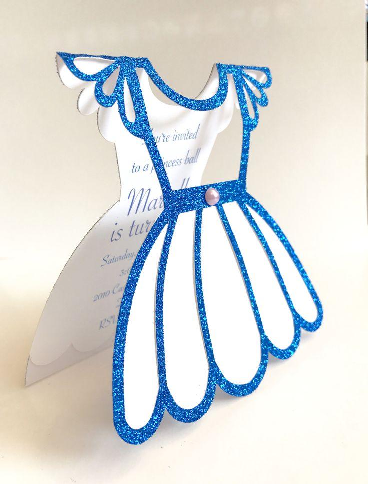cinderellthemed wedding scroll invitations%0A Cinderella Invitations   Cinderella Birthday Invitations   Princess Dress  Invite   Cinderella Quincea  era   Cinderella Sweet