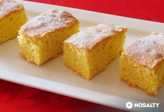 Kukoricadarás-narancsos sütemény