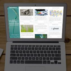 20+ Next Generation Responsive Ghost CMS Themes