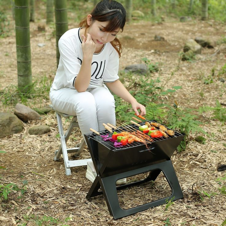 with carry bag mini foldable bbq grill ZN-1007s-LFGB - from Alibaba.com