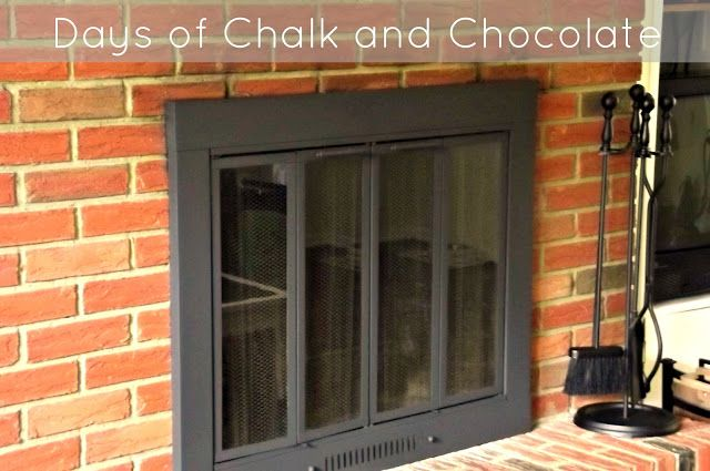 Days of Chalk and Chocolate: Painting a Fireplace Surround, Hanging Sconces