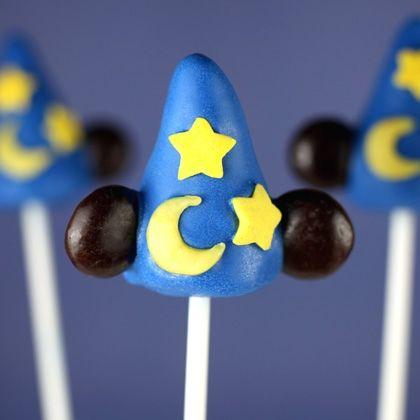 Sorcerer's Hat Cake Pops (recipe: http://di.sn/f63)