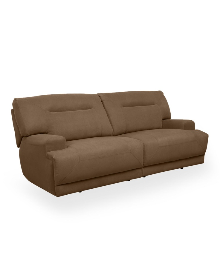 Ricardo double reclining sofa fabric power motion sofas for Macy s reclining sectional sofa
