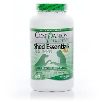 Shed Essentials Plus for Dogs - Cut down on dog shedding with Companion Promise - PetCareRx - $6.99