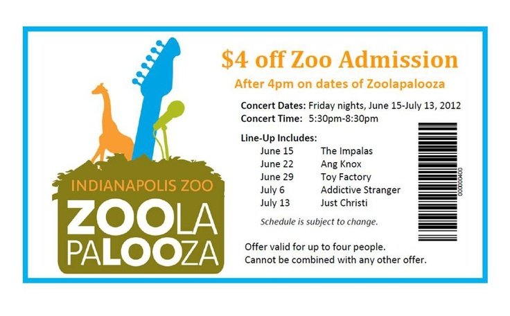 indianapolis zoo coupons