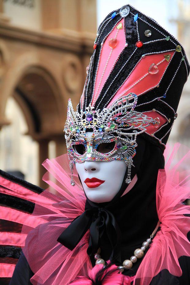 2015 Venice Carnival - Sur le Môle, devant le Palais ducal - Le Carnaval de Venise comme si vous y étiez - Géo
