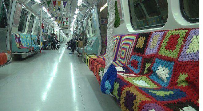 İstanbul Büyükşehir Belediyesi, Hacıosman-Yenikapı Metro Hattı'nda Anneler Günü nedeniyle sıradışı bir uygulamaya imza attı.