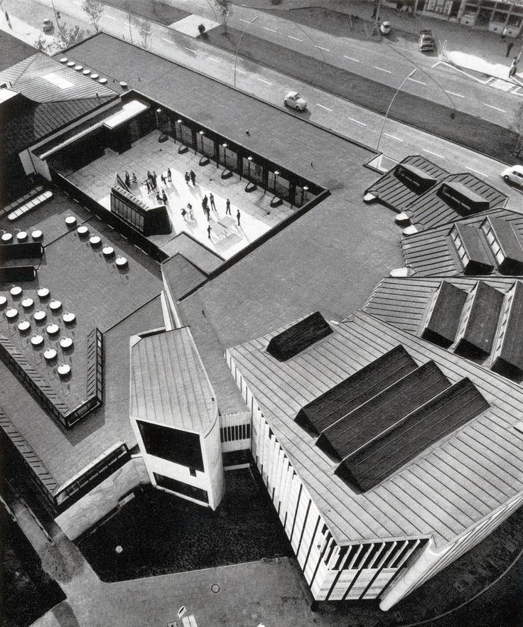 © alvar aalto - cultural center - wolfsburg, germany - 1959, architectural model, maqueta, modulo