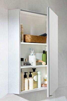 Armario baño con espejo Remix cromo 60x75 cm - SENSEA ...