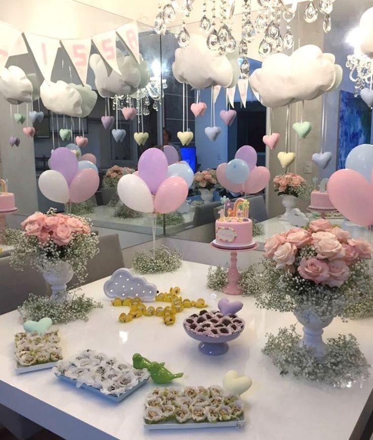 Olha o capricho dessa mesa de mesversário com Bolo Fofinho feito por @bolosdacintia! Cheio de florezinhas, com bastante rosa e um lindo arco-íris, do jeito que a mãe pediu!💕🌸 . Orçamentos e encomendas: 💌 E-mail: contato@bolosdacintia.com 📞 Whatsapp: (11) 96882-2623 . #bolosdacintia #mesversario #bolodemesversario #bolo #bolodecorado #festademenina #babygirl #cake #ilovecake #cakeboss #cutecake #bolofofinho #fofo Supprimer le commentaire