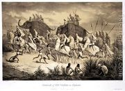 Maharaja Sher Sing of the Punjab and his entourage out hunti...  by Louis Henri de Rudder