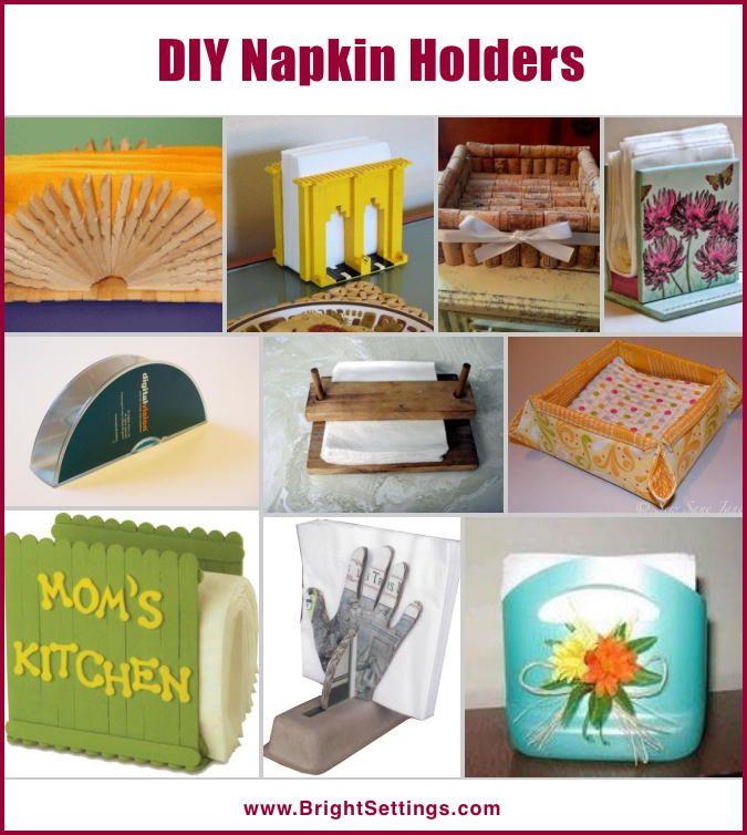 http://www.ahomd.com/category/Napkin-Holder/ http://www.cadecga.com/category/Napkin-Holder/ http://www.homefavour.com/category/Napkin-Holder/ DIY Napkin Holders