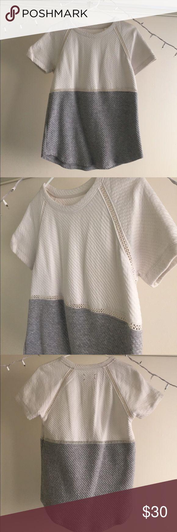 LOU & GREY oversized smock shirt // size small Super cute Lou & Grey smock shirt, size small. Lou & Grey Tops