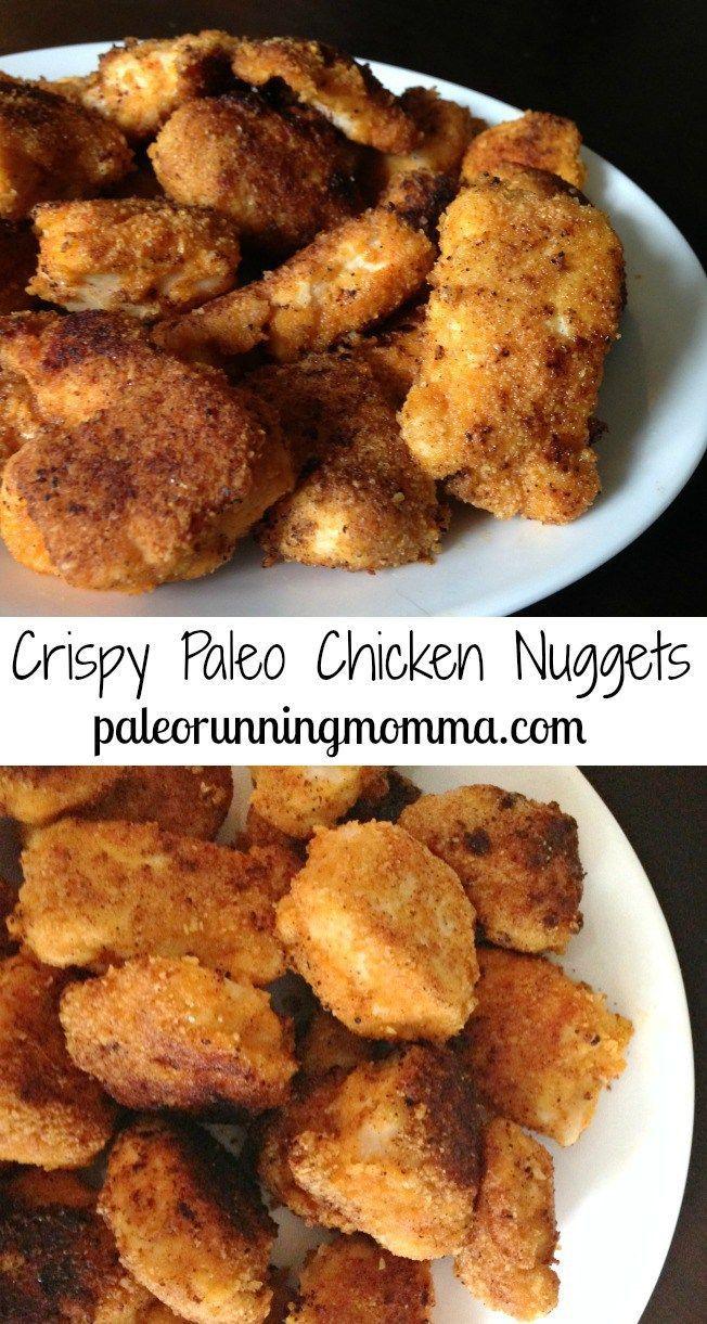Crispy Paleo Chicken Nuggets - Grain and dairy free, super tasty!