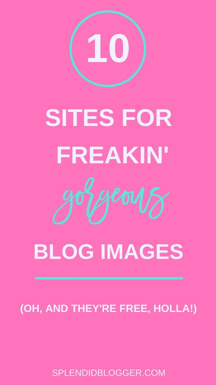 Not sure about you, but I get sick of using the same boring images for my blog posts. Ready for some gorgeous and free stock images for blog posts? Click through for  10 amazing resources for stock photos for your blog and social media! | splendidblogger.