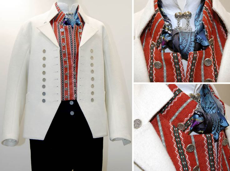 Norwegian Folk Costume - also for men (tronderbunad) MadeinNorwayNow
