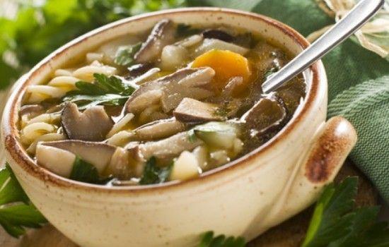 Рецепты грибного супа с белыми грибами, секреты выбора ингредиентов и