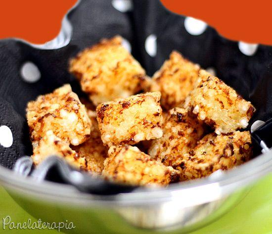 PANELATERAPIA - Blog de Culinária, Gastronomia e Receitas: Dadinho de Tapioca e Queijo Coalho