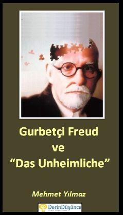 """Gurbetçi Freud ve """"Das Unheimliche""""  Modern insanın kalabalıkta duyduğu yalnızlığı sorgulamak için iyi bir fırsat… Sigmund Freud gurbette olma duygusunu, yabancılık, terk edilmişlik hissini anlatan """"Das Unheimliche"""" adlı denemesini 1919'da yayınlamış. İsminden itibaren tefekküre vesile olabilecek bir çalışma. Zira """"Unheimliche"""" alışılmışın dışında, endişe verici bir yabancılık hissini anlatıyor. reud'un İd (Alt bilinç), Benlik (Ego), Üst Benlik (Süperego) çatışmalara ışık tutabilir mi?"""