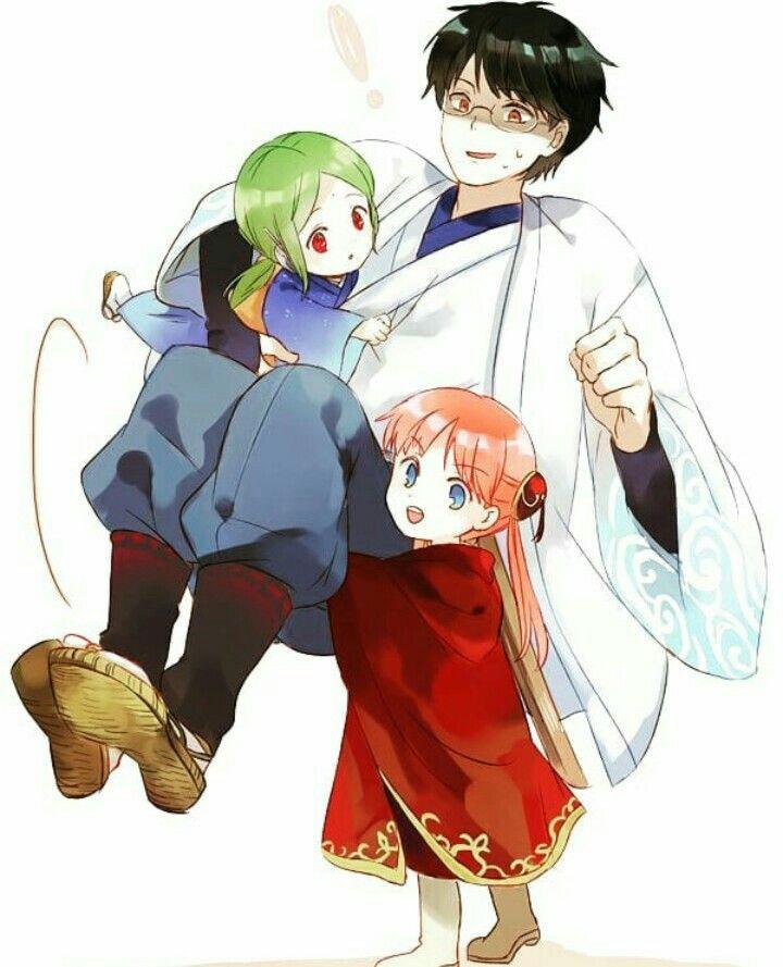 Tamako, shinpachi, kanna