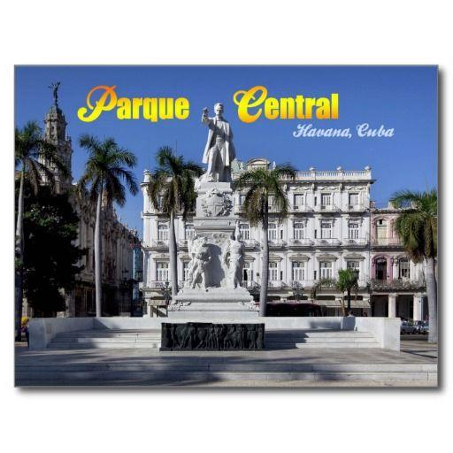Estatua de Jose Marti en La Habana, Cuba  #tarjeta #postal #postcard