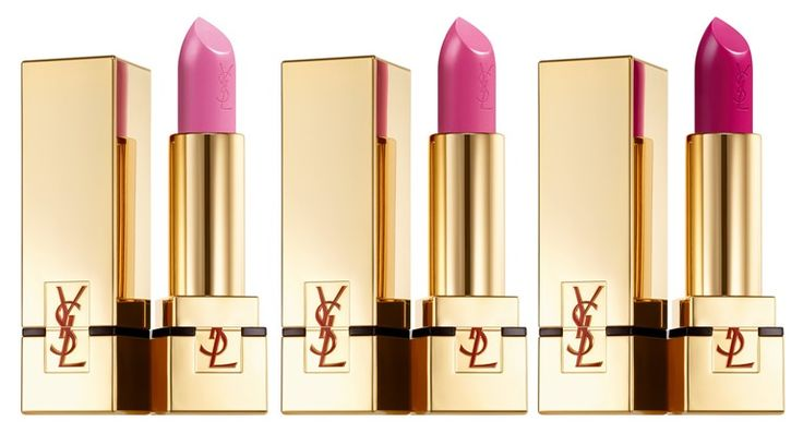 Yves Saint Laurent Rouge Pur Couture Rossetti rosa