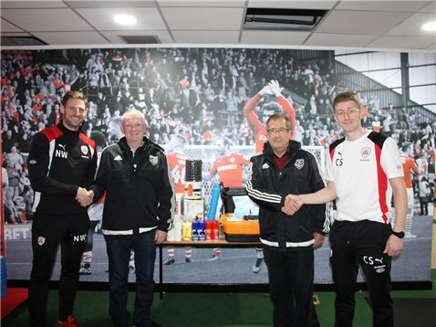 Reds Donate Medical Supplies To Penistone Church!
