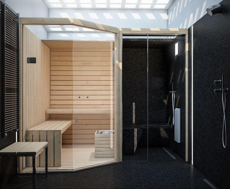 render build-design spazio benessere sauna e bagno turco