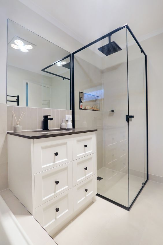 Best 12 Black Bathroom Fittings Images On Pinterest