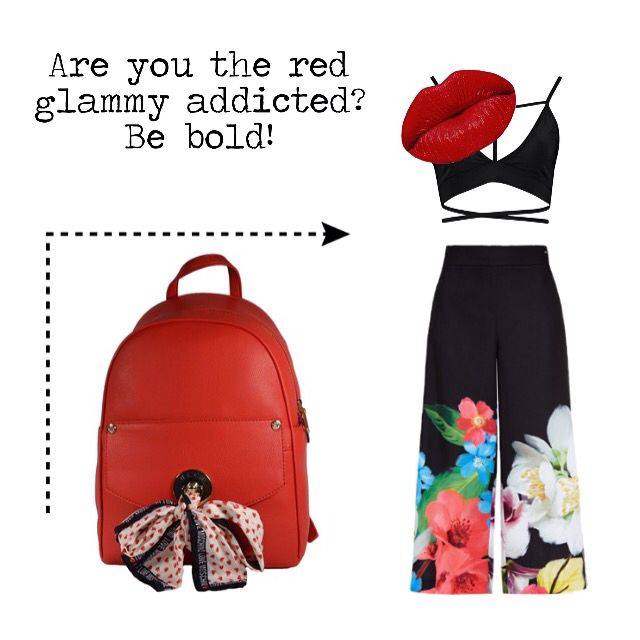 LOVE MOSCHINO! Are you the red glammy addicted? Find it at glammy.pt, instagram and facebook ☺️