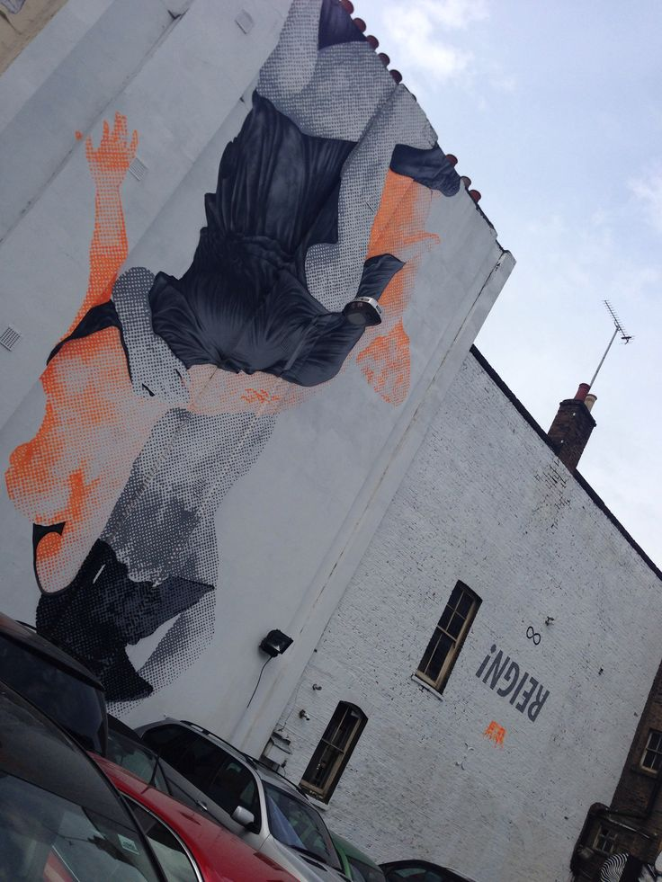 Amazing Cyrcle mural #reign #cyrcle #streetart #mural #shoreditch