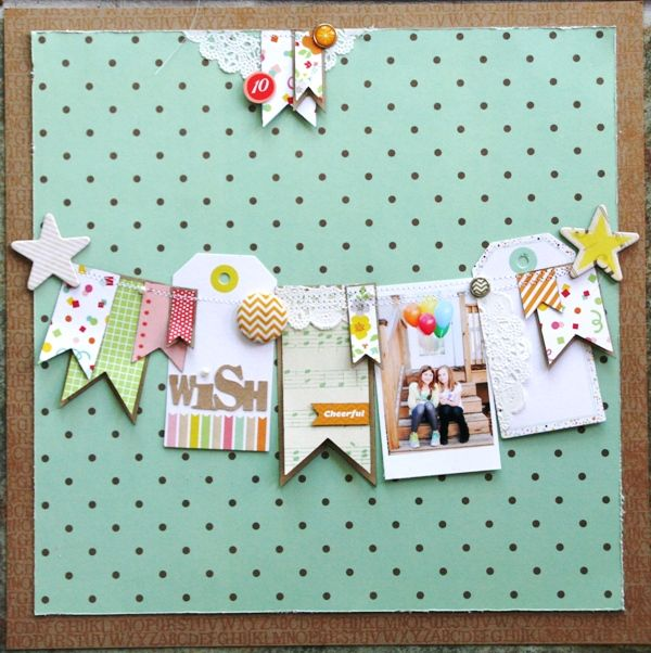 birthday wish by Leah | Scrapbooking Kits, Paper & Supplies, Ideas & More at StudioCalico.com!