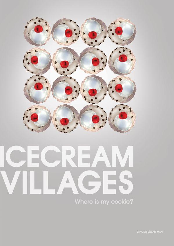 Icecream village by Park ah-young, via Behance