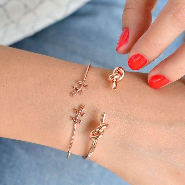 Epi Rose Gold Jonc Bracelet