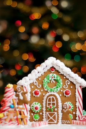 The Ultimate Gluten Free Gingerbread House | Udi's® Gluten Free Bread