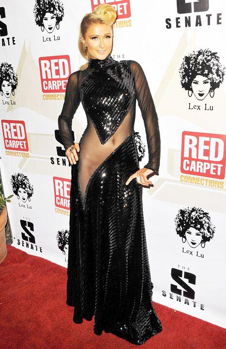 Paris Hilton at the 4th Annual Red Carpet Pre-Grammy Celebration
