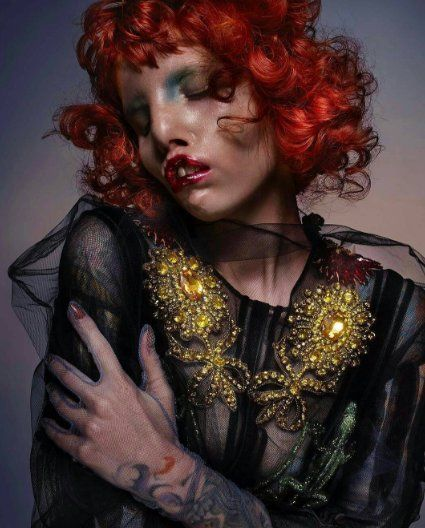 Model With Rare Cat Eye Syndrome Stars In Breathtaking High Fashion Shoot