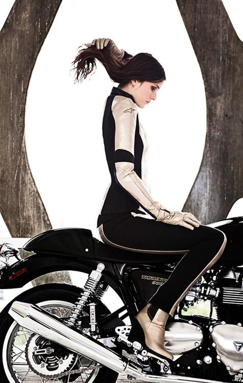 Theres just something about a girl who can ride a motorcycle