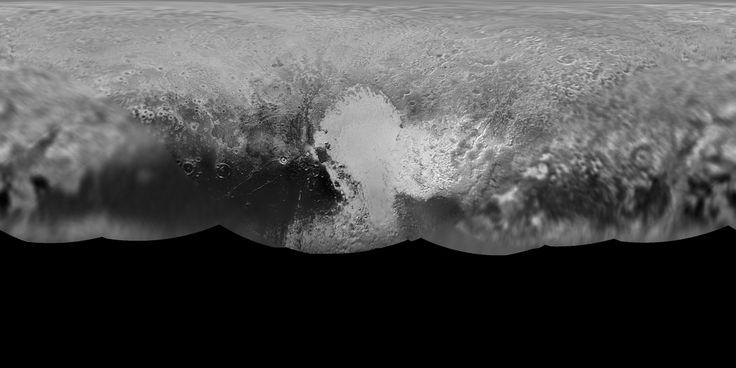 Global Map of Pluto #picoftheday