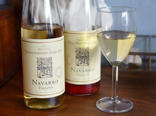 Navarro Vineyards Grape Juice: A Non-Alcoholic Wine Substitute