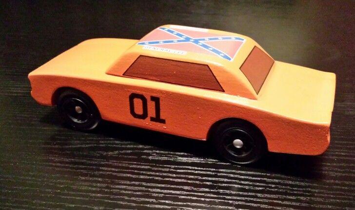 General Lee Pinewood Derby Car | My creations -