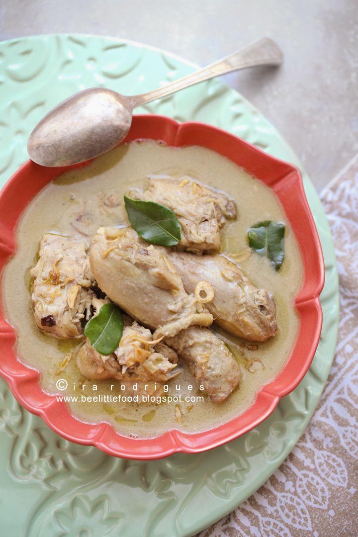 Java chicken curry (opor ayam)