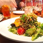 The infamous Thai steak noodle salad from hillstonebiltmore  Love at first bite