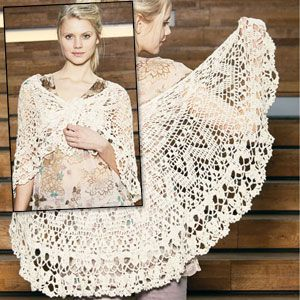 Free Antique Crochet Shawl Patterns : Six-Shelf Yarn and Craft Organizer Flats, Wedding shawl ...