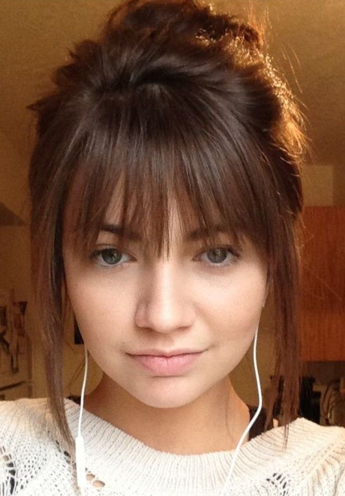 Fringe Hairstyles With Bangs Short Red Hair Long Hair With Bangs