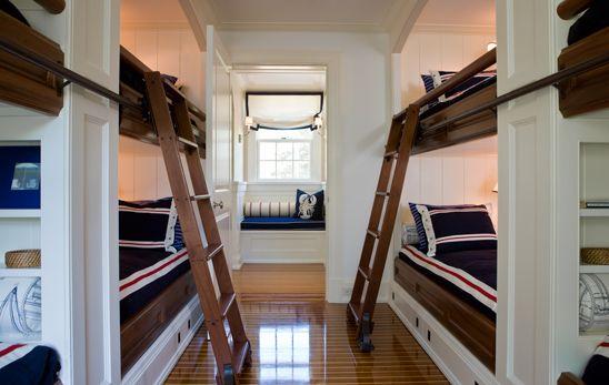 built-in bunks