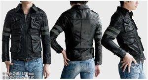 Model Jaket Kulit Leon Residen Evil, Kode: A-015